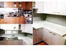 """Marble Contact Paper? NO White Counter top Laminate Faux Marble  36"""" W x 72"""" L"""