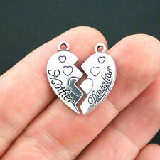 Praying Hands Smaller Size Heart Believe Stainless Steel Charms BFS2515
