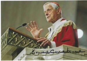 Eigenh. Autogramm Donald Cardinal Wuerl,  EB von Washington
