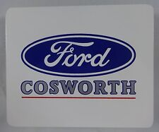 "New Ford COSWORTH 5"" x 4.125"" Decal Collector Official Product"