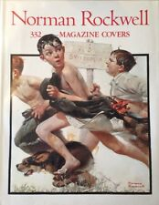 Normand Rockwell Book 332 Magazine Covers By Christopher Finch 🇨🇦 Seller
