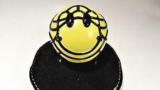 HAPPY yellow - David Flores  SMILE Ball S.M.I.L.E. - sofubi figure smiley face
