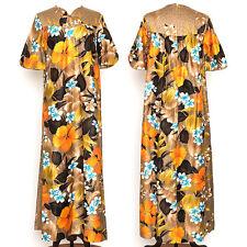 Vintage Reef Hawaiian Mumu Floral Dress Size 8