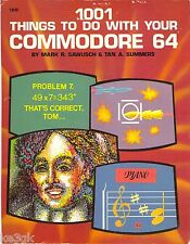 1001 Things to do with your Commodore 64 * CDROM * PDF