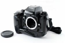Nikon F4S 35mm SLR Film Camera MB-21 w/ MF-22 Data back JAPAN [Exc+++]