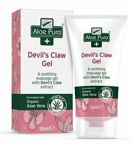 Aloe Pura Organic Aloe Vera Devil's Claw Gel 50ml