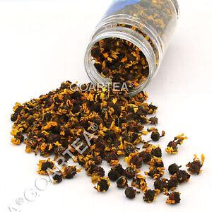 GOARTEA 50g Premium Coreopsis tinctoria Snow Chrysanthemum Flower Herbal Tea