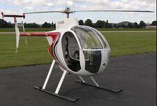 Revolution Mini-500 Light Helicopter Desktop Wood Model Big New