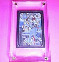 2007 Upper Deck Masterpieces BLACK Frame #32 Vladimir Guerrero HOF SP #d/99