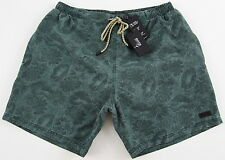 Men's HUGO BOSS Green Floral Swim Trunks AMAGOFISH Swimsuit Medium M NWT NEW