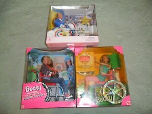 Mattel Barbie Becky Special Edition Share A Smile, Photographer, Paralympic MIB
