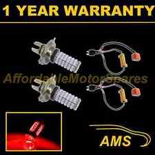 2x H4 Red 120 LED Anteriori Abbaglianti e Anabbaglianti Auto Luci Anteriori Kit Xenon hm501003
