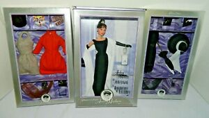 Audrey Hepburn Doll Breakfast at Tiffany's, The Cat Outfit & Black Daytime Dress