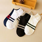 5 Colors Men's Sports Socks Lot Crew Short Ankle Low Cut Casual Cotton Socks