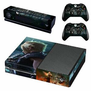 Final Fantasy VII Remake Xbox ONE Skin Sticker Vinyl for Console & 2 Controllers
