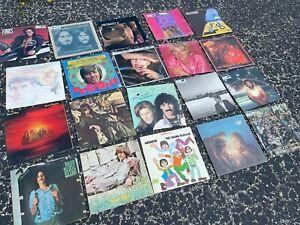 Vinyl Lot of 20 vintage record album collection (LOT RH205) ROCK & ROLL - POP
