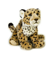 "Jaguar soft plush toy 11""/28cm National Geographic stuffed animal NEW"