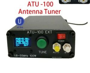 """ATU 100Box for 7x7 Automatic Antenna Tuner including Oled96"""" Famous kit by N7DDC"""