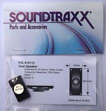 Soundtraxx Oval Speaker 25.5mm x 14mm 8 ohms high output, great sound