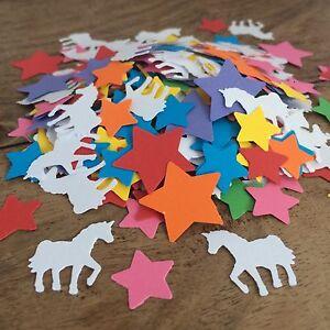 Unicorn Table CONFETTI | Girls Birthday | Baby Shower | Christening | Party