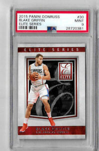 2015 Panini Donruss Blake Griffin Elite Series PSA 9