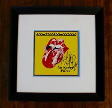 """Charlie Watts Rolling Stones Signed """"No Spare Parts"""" 7"""" Record"""