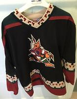 MEDIUM - Vintage NHL Phoenix Coyotes CCM Jersey Canada Authentic Hockey Arizona