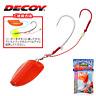Decoy Hybrid Fishing Lure Os-2E Slide Multi Tenya Ebi Ora Red Color
