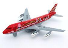 Vacaciones chicos Avión Die Cast Metal Avión Jet Rojo 18cm Avión Juguete Nuevo