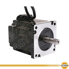 ACT MOTOR GMBH 1PC Nema34 Closed Loop Stepper Servo Motor 6A 5Nm CNC Engraver