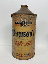 Dawson's Pale Ale Quart Cone Top Beer Can #206-10