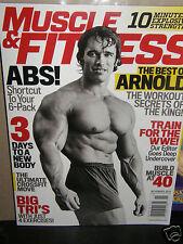 Muscle Fittness     Arnold Schwarzenegger      2014 Magazine new/unread/no-label