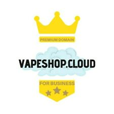 Domain name vapeshop.cloud best for e-commerce businesses e-cigarette
