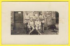 cpa CARTE PHOTO Soldats 259 sur Col  en BELGIQUE Militaires Uniformes Poilus