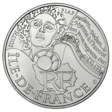 Pièce de 10 euros en argent de la région Ile de France - Euro des régions 2012