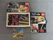 Lego vintage 854 en boite, notice