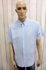 RALPH LAUREN Camicia Uomo Taglia XL Cotone Shirt Chemise Casual Manica Corta