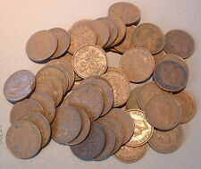 CANADA  1 CENT 1947ML  VG to F+ ****50 pcs lot*****