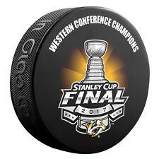2017 NHL Nashville Predators Western Conference Champions Souvenir Hockey Puck
