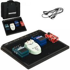 ROCKBAG RB23110B/B Case portapedali + alimentazione per effetti chitarra e basso