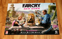 Far Cry New Dawn Video Game Rare Promo Poster PS4 Xbox One Ubisoft 59x84cm