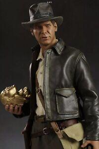 Sideshow Toy Indiana Jones Premium Limited Edition Figure Brand New. Model 7192