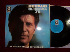 Gilbert BECAUD-Olympia 70 German COLUMBIA LP
