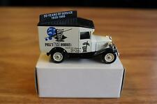 Lledo Promo Model 1/64 Polk's Hobbies Ford Model A Delivery Van White/Blue MIB