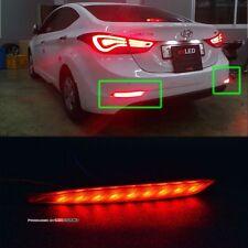 (Fits: Hyundai 2014 Avante Elantra)exLED Premium power LED rear reflector module