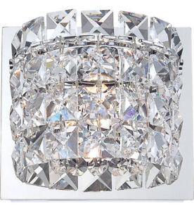 Elk Lighting Rondell Chrome Vanity Light w/Clear Crystal Glass BV1701-0-15 *