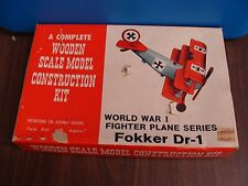 FOKKER DR-1 WWI FIGHTER PLANE SERIES MODEL**FREE SHIPPING!!