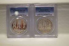 2010-W $1 Disabled Veterans Pair (Proof & Unc.) Commemorative Coins