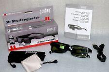 Goodbay 31982 3D Shutter Brille f. LG TV IR Infrarot Übertragung Betriebzeit 50h