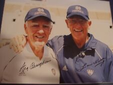 NOTRE DAME COACHING LEGENDS AUTOGRAPHED / FRAMED PHOTO